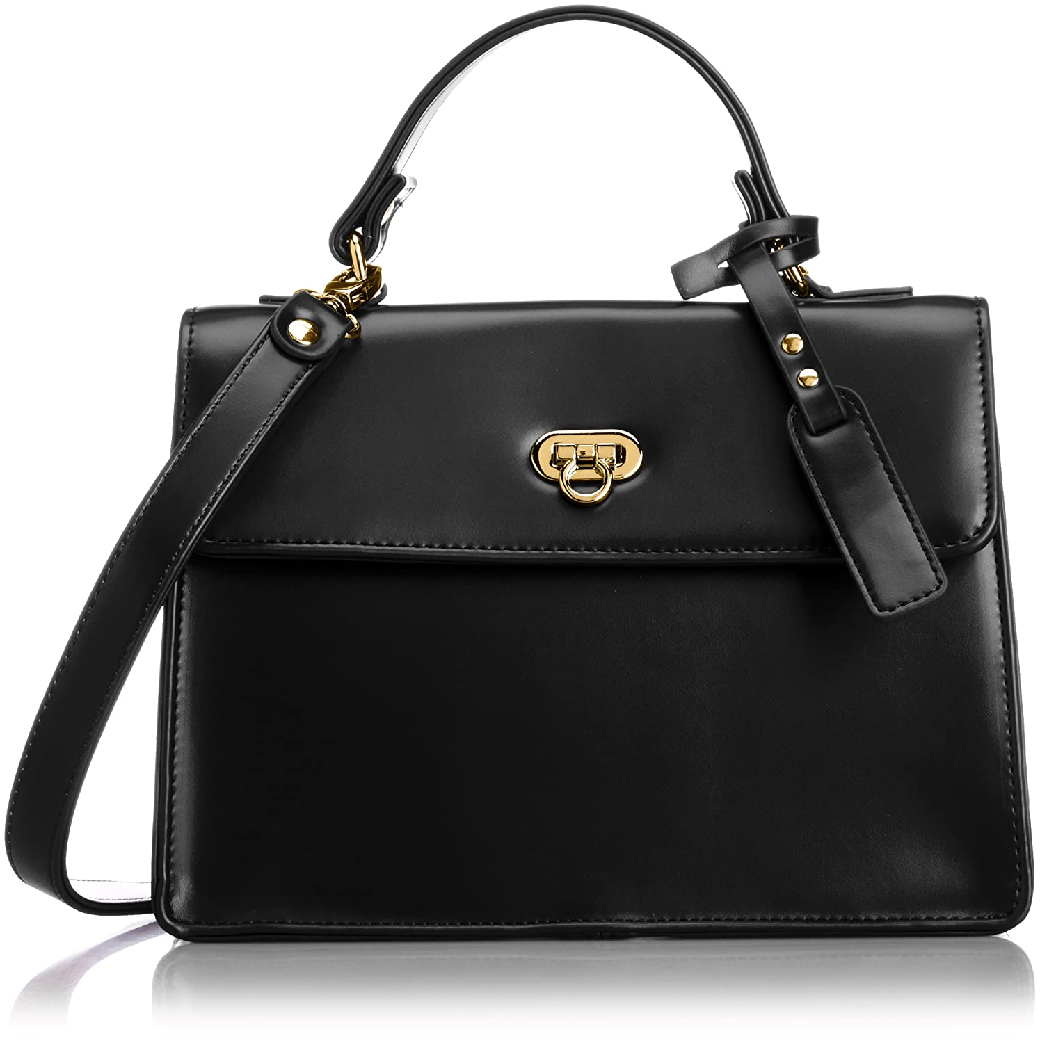 Amazon.co.jp: [リリーブラウン] Lily Brown 2way台形ショルダーBAG LWGB151302 9 (BLK): シューズ&バッグ:通販