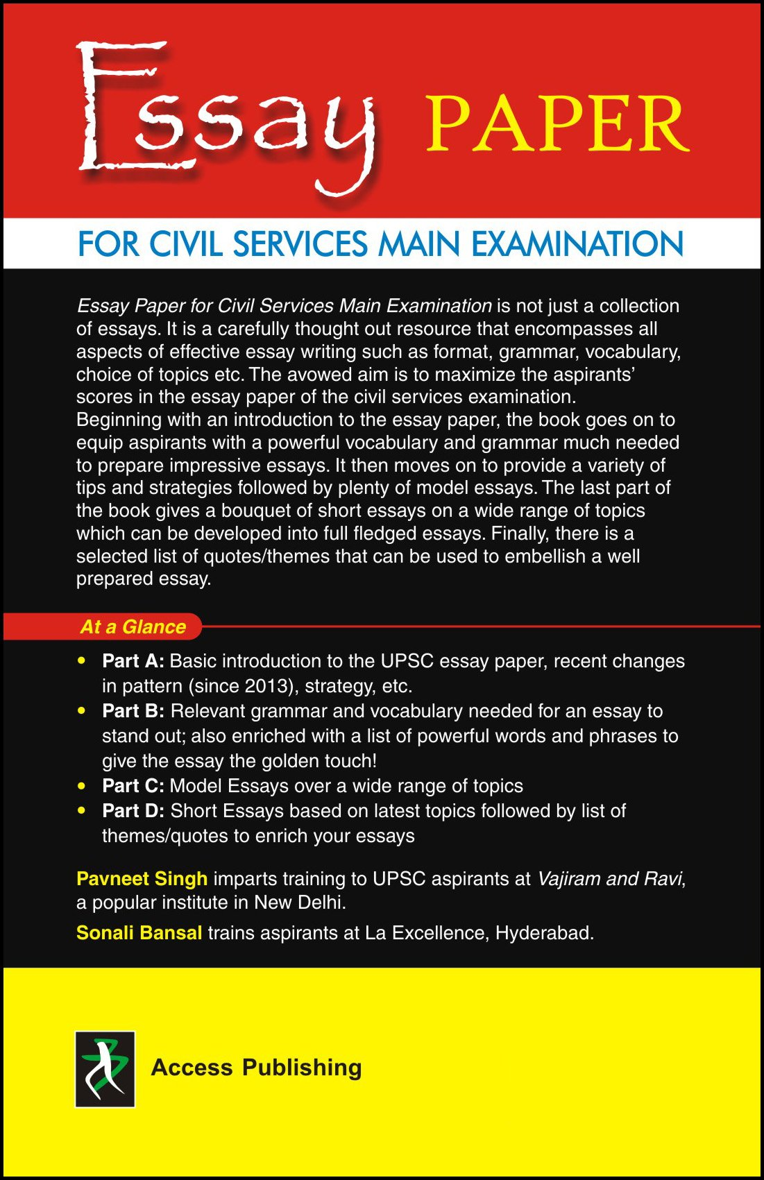 Buy Essay Paper For Civil Services Main Examination Book Online At Buy  Essay Paper For Civil