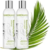 Moroccan Argan Oil Shampoo and Conditioner: SLS Sulfate and Cruelty-Free, Best for Damaged, Dry, Curly or Frizzy Hair. Thickening for Fine or Thin Hair, Safe for Color Treated and Keratin Treated Hair (Tamaño: 8 oz Set)