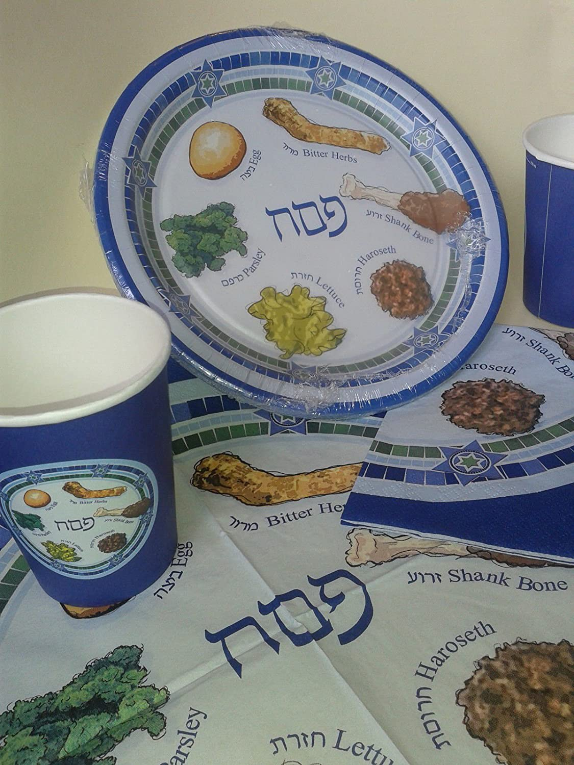 Paper Plates & Cups for Passover