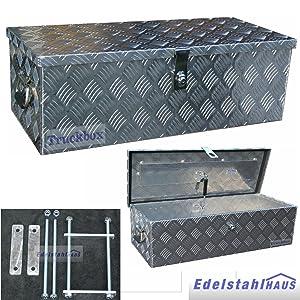Truckbox D055 +MON2012 Werkzeugkasten, Deichselbox, Transportbox  BaumarktRezension
