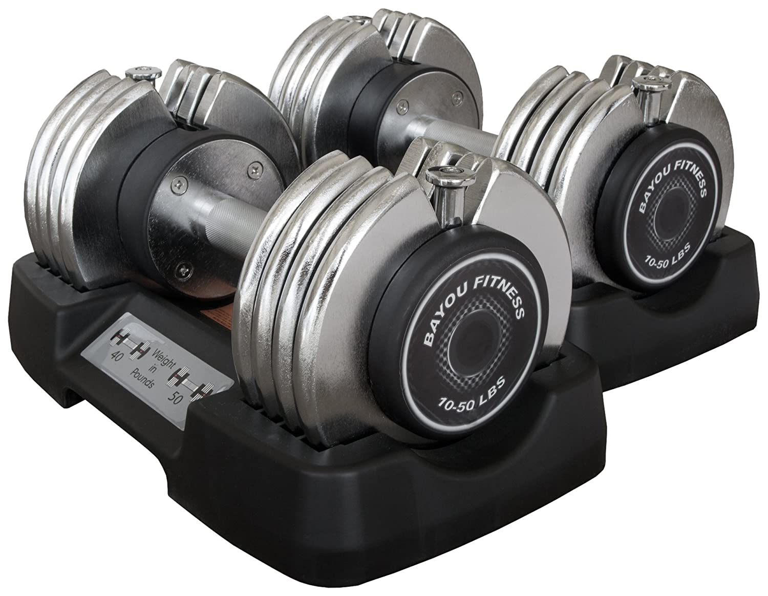 Bayou Fitness Pair Adjustable Weights