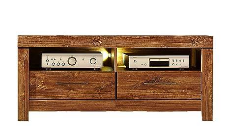 Stella Trading GTCC901030 TV-Unterteil, Holz, braun, 54 x 138 x 60 cm