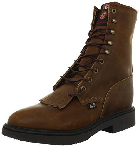 Designer Justin Work Boots Double Comfort Work Boot For Men Discount Shopping Multi Color Options