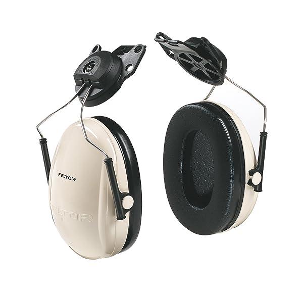 3M Peltor Optime 95 Cap-Mount Earmuffs, Hearing Conservation H6P3E/V (Tamaño: Cap Mount)