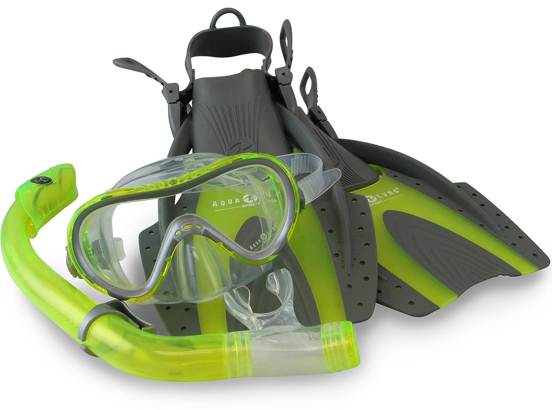 Aqua lung snorkel set apologise, but
