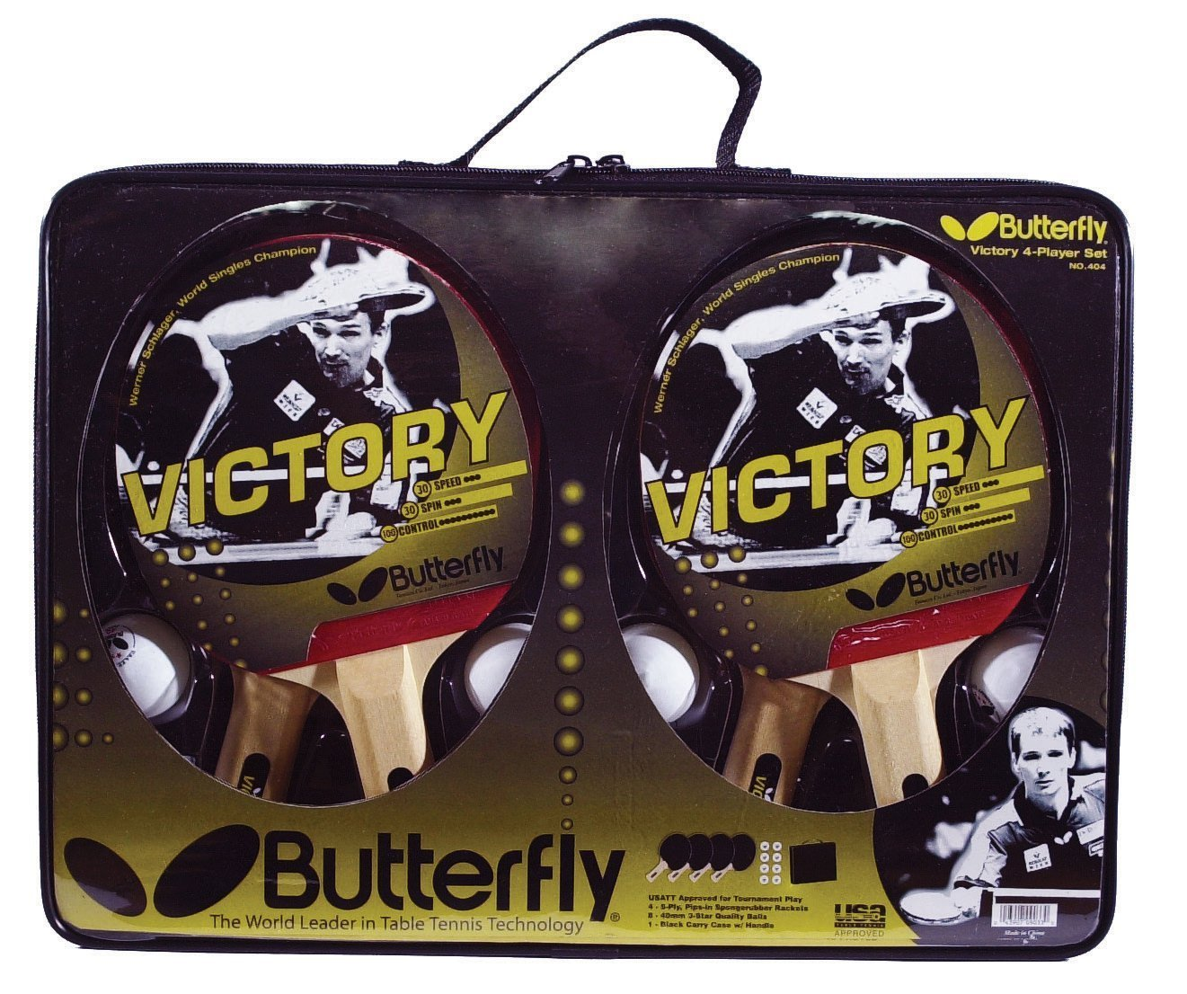 Butterfly Victory 4-Player Table Tennis Set pvc figure genuine simulation model toy butterfly life cycle set