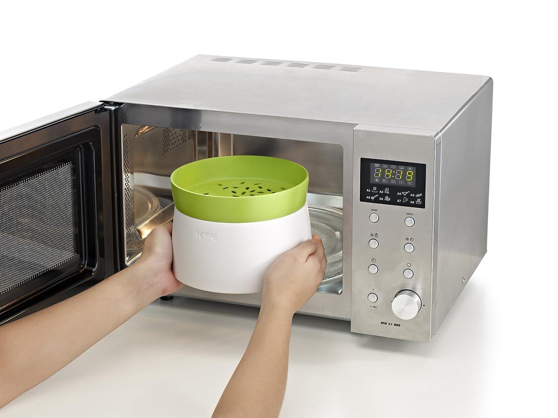 Chollo recipiente para cocinar arroz al microondas barato - Como cocinar al vapor en microondas ...