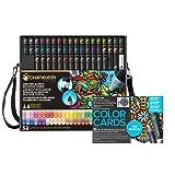 Chameleon Marker 52 Pen Set w/Mini Mandala Color Cards (Color: Mini Mandala)