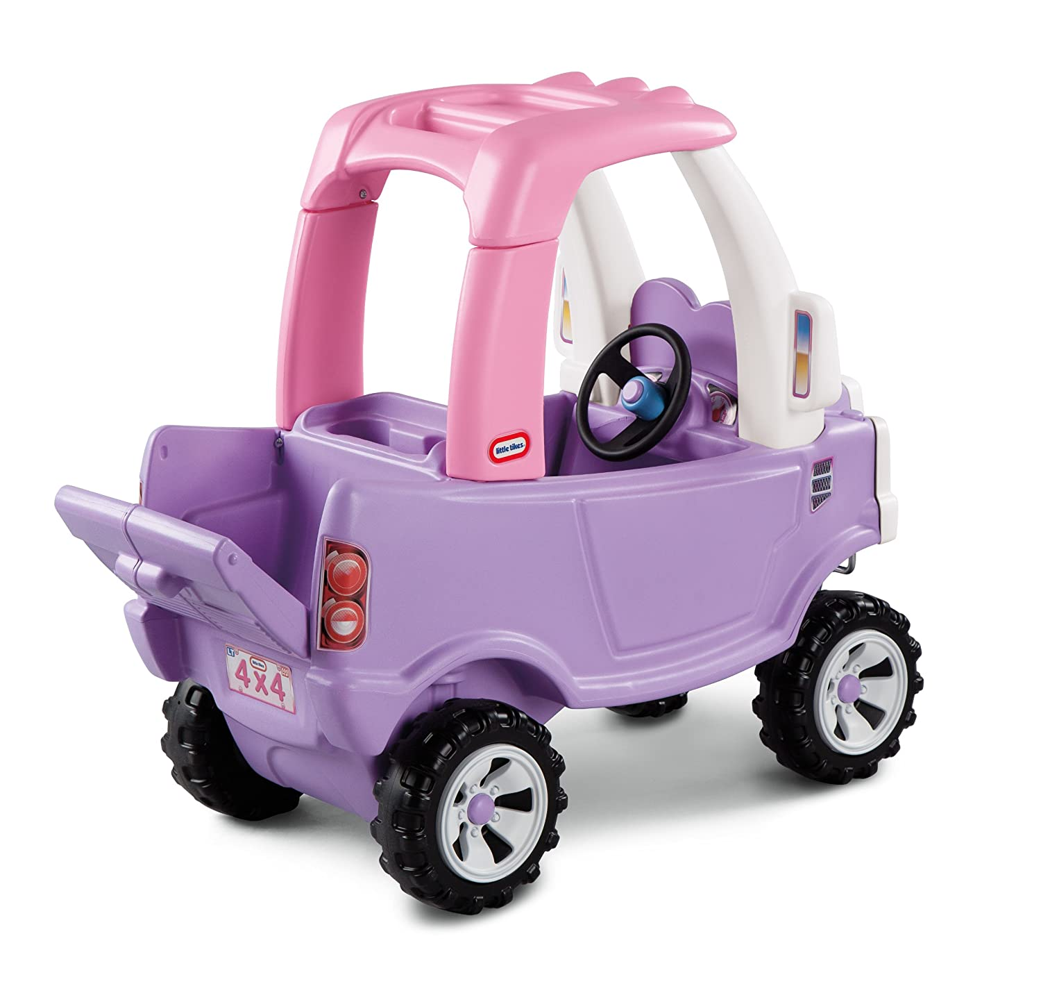 An Image of Little Tikes Princess Cozy Truck Ride-On