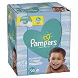 Pampers Baby Wipes Complete Clean Scented, 720 Count