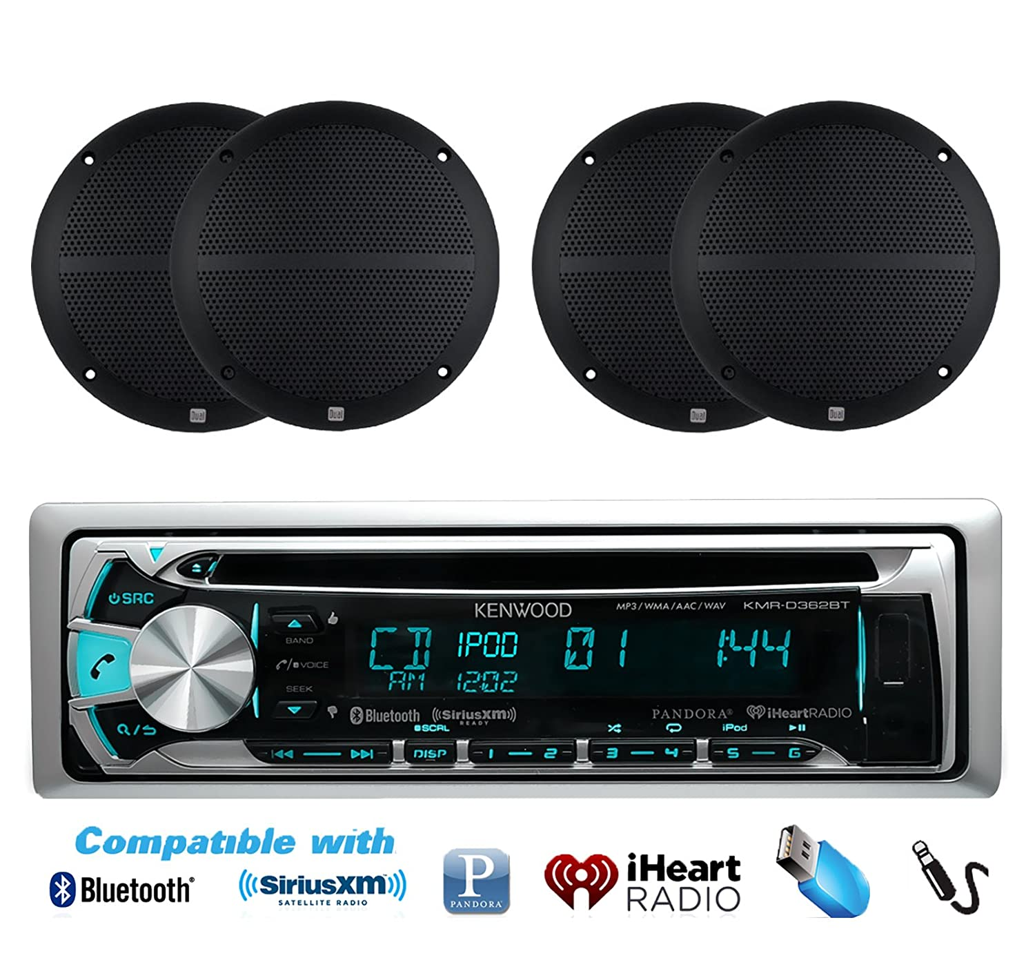 top 10 best waterproof marine stereo systems for boats. Black Bedroom Furniture Sets. Home Design Ideas