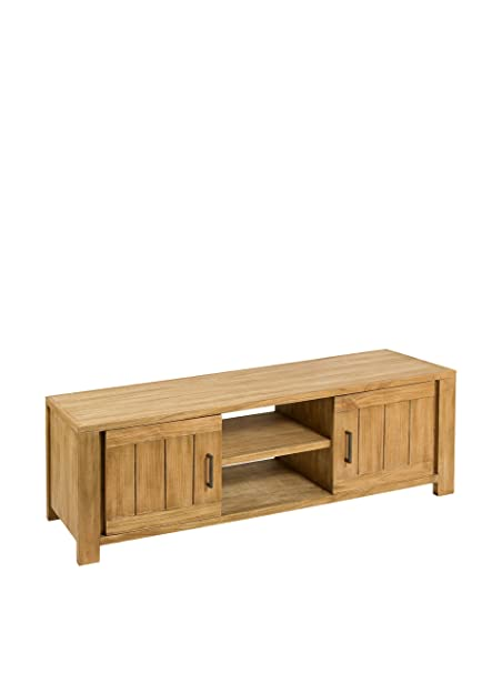 Colonial Style Mueble Para Tv Chicago Natural