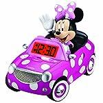 Kid Designs Minnie Mouse Alarm Clock pink