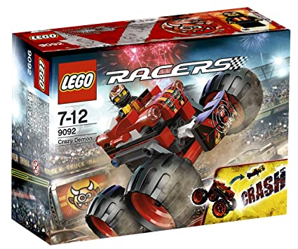 LEGO Racers - 9092 - Jeu de Construction - Crazy Demon