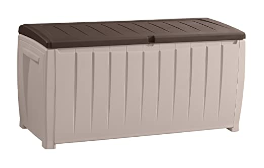 keter deck box with seat 90 gallon 2