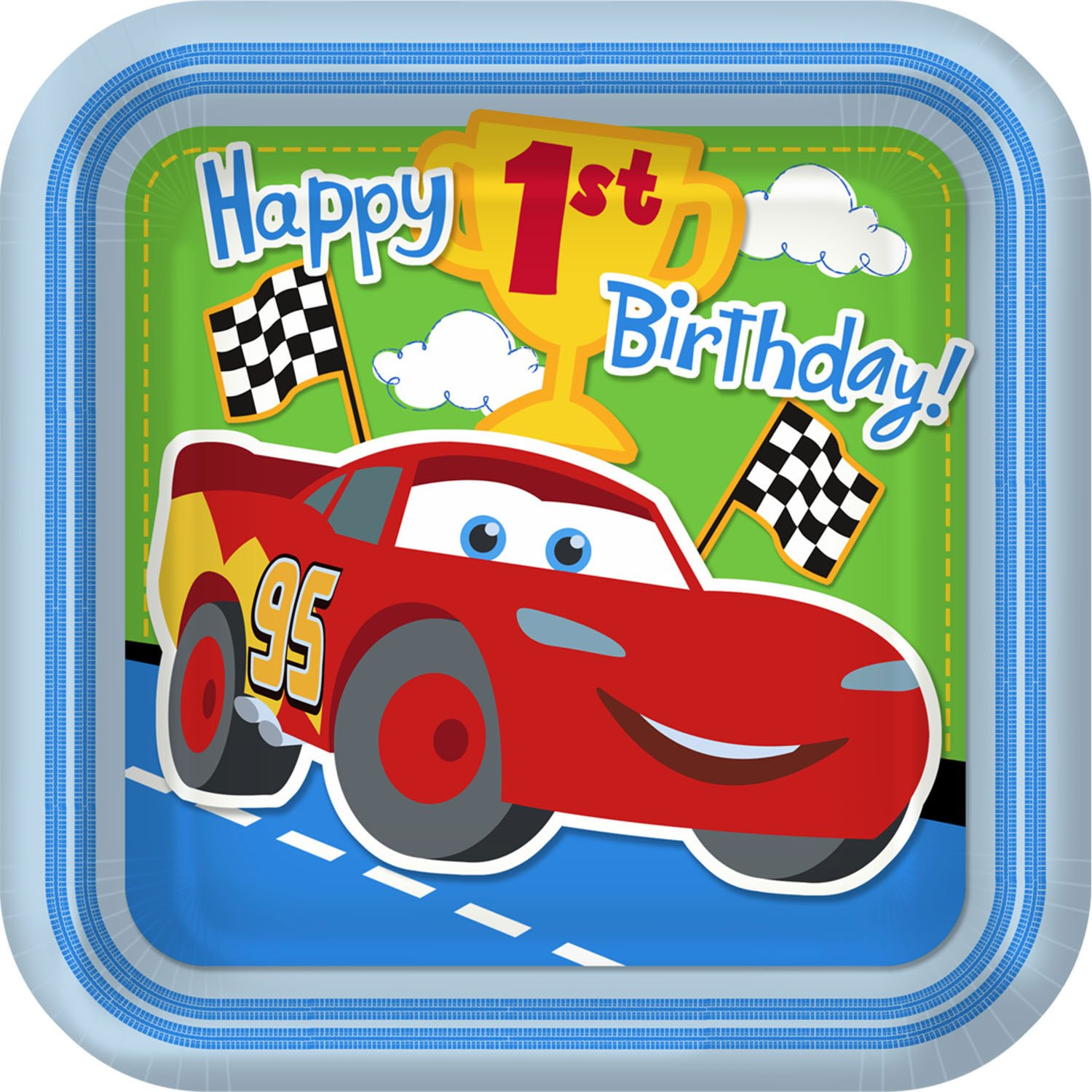 Disney cars first birthday party supplies birthday wikii for Car picture ideas
