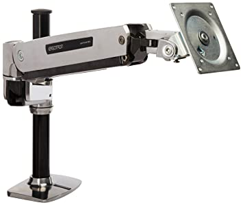 ERGOTRON LX HD Sit-Stand Desk Mount LCD max 13,6kg. anheben 51cm neigen 80grad schwenken 360grad drehen 90grad