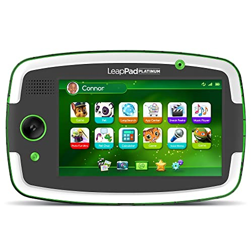 LeapFrog LeapPad Platinum Kids Learning Tablet Green