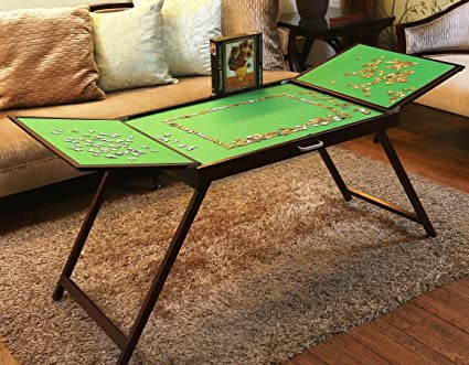Puzzle Piece Table Puzzle Storage Table Forof