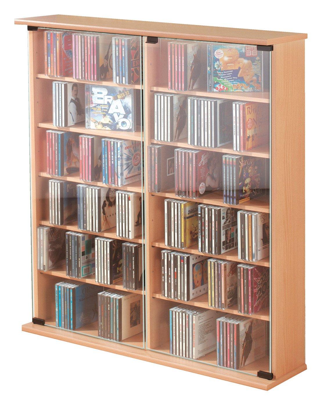 """VCM 50403 VCM CD/DVD-Turm für """"Roma"""" 300 CDs, buche jetzt bestellen"""