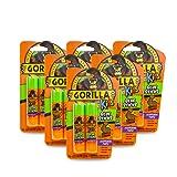 Gorilla 100547 School Glue Sticks, 6 - Pack, Purple, 12 Piece (Color: Purple, Tamaño: 6 - Pack)