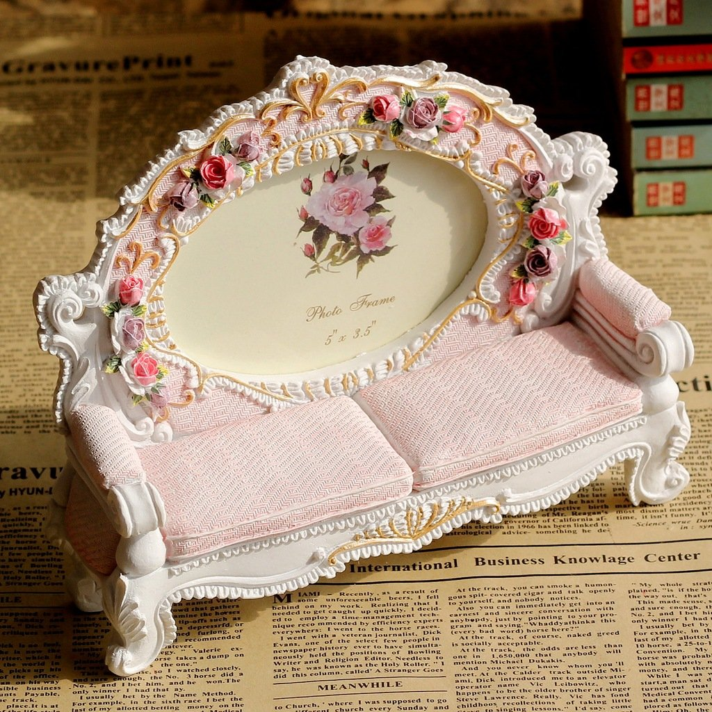 Giftgarden Roses Frames 3.5x5 Photo Sofa Picture Frame 5 by 3.5 Inch 3