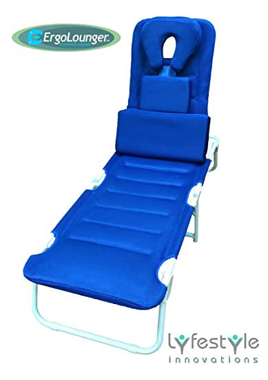 Lounge Chairs Outdoor Ergo Pillow Patio Beach Recliner