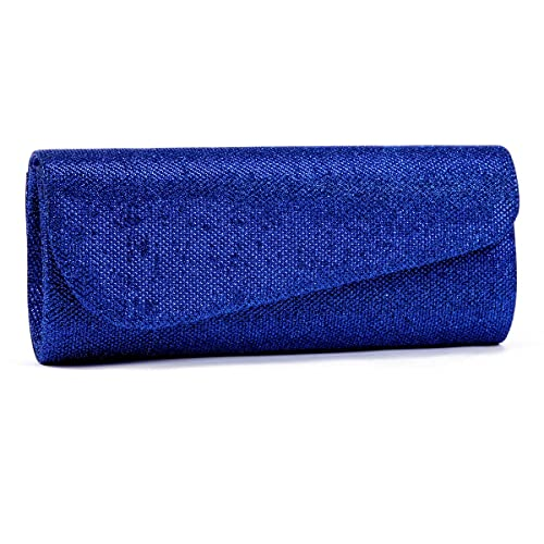shop ysl bags - Blue Clutch Purse Evening Bags \u2013 Designer Wallet Handbags