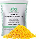 Limited Time Sale! Beeswax Pellets 1 lb, Yellow, Pure, Natural, Cosmetic Grade, Bees Wax Pastilles, Triple Filtered, Great for DIY Projects, Lip Balms, Lotions, Candles by White Naturals (Tamaño: 16 Ounce)