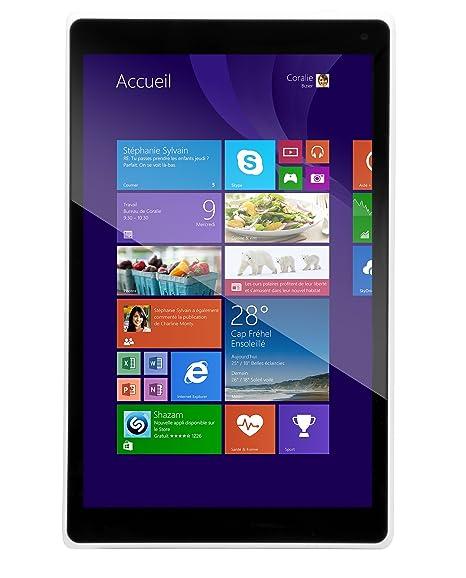 "Danew Dslide i812 Tablette tactile 8"" (20,32 cm) Intel Atom Z3735D 1,33 GHz 16 Go Windows 8.1 Wi-Fi Blanc"