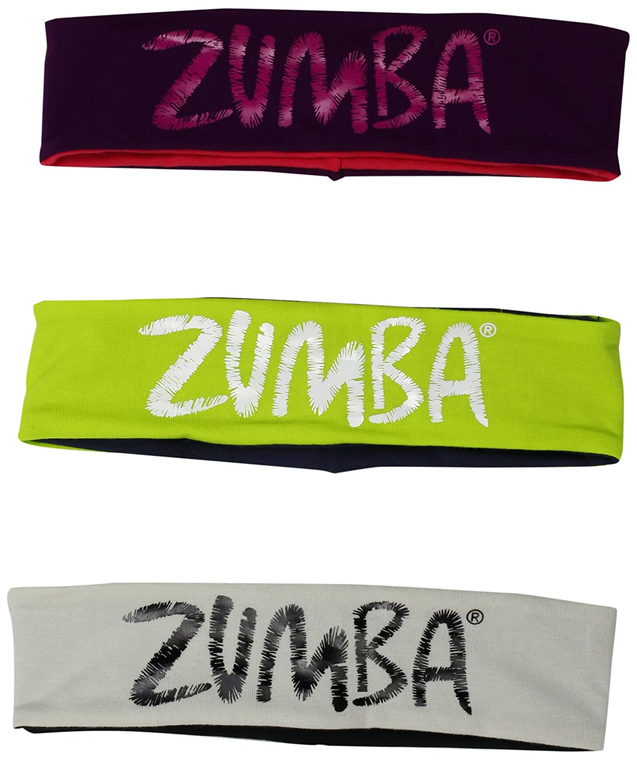 Zumba Fitness Joy Two-Way Headbands