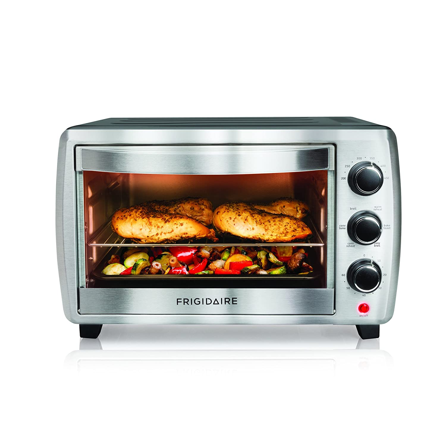 Convection Toaster Pizza Oven Countertop Stainless Steel