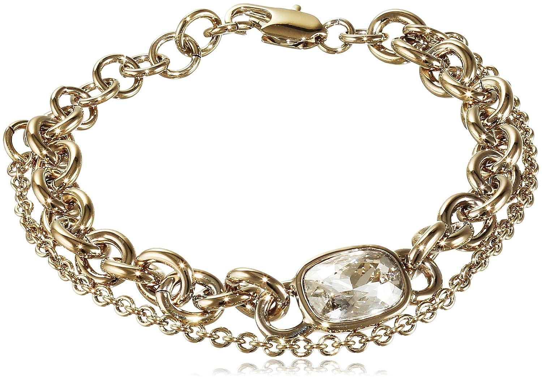 Dyrberg/Kern Damen-Armband 15/02 Elisa/B Sg Crystal Messing teilvergoldet 23 cm – 338286 jetzt kaufen