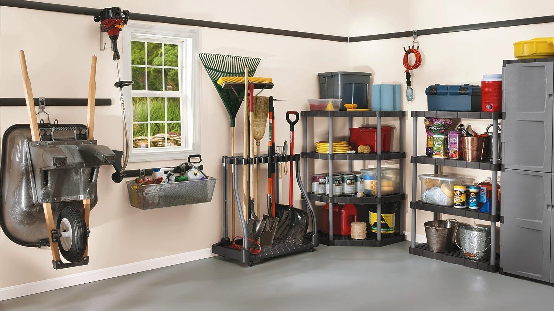 garage organisation ideas uk - Rubbermaid 40 Tool Shed Tower Rack Organizer Shovel Rake