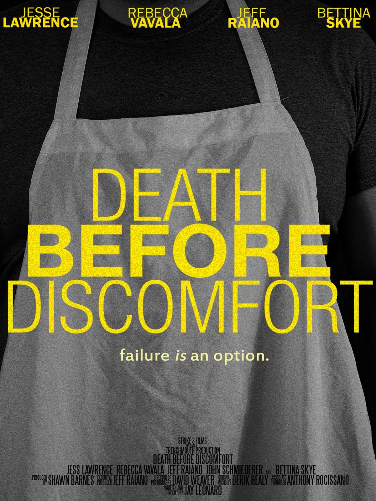 Death Before Discomfort on Amazon Prime Instant Video UK