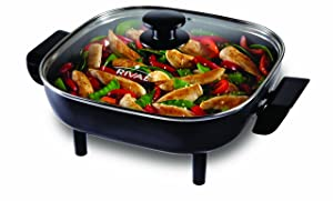 Rival CKRVSK11 11-Inch Square Electric Skillet Via Amazon