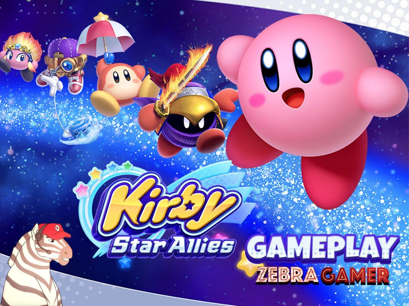 Clip: Kirby Star Allies Gameplay - Zebra Gamer - Season 1
