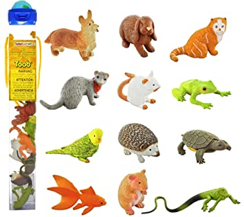 Plastoy - 6815-04 - Figurine - Animal - Tubo Figurine - Animal De Compagnie