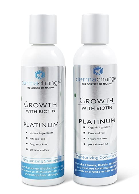 Hair Growth Platinum Shampoo by dermachange