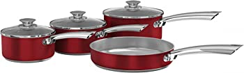 4-Pc Morphy Richards Accents Pan Set