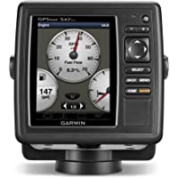 Garmin GPSMAP 547xs 10Hz GPS/GLONASS Receiver with Transducer