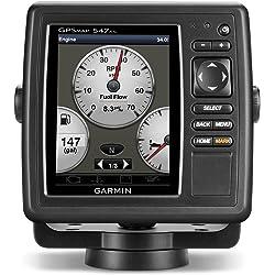 Garmin GPSMAP 547xs 10Hz GPS Chartplotter/Glonass Receiver with Transducer
