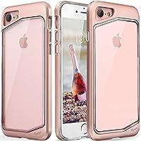 Yesgo Slim Transparent Bumper Case for Apple iPhone 8 / iPhone 7 (Rose Gold)