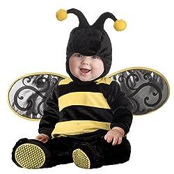 InCharacter Infant Bee Costume Black/Yellow