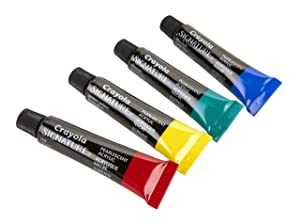 Crayola Pearlescent Acrylic Paint Set, Painting Supplies, 16 Count, for Her (Color: Vary)