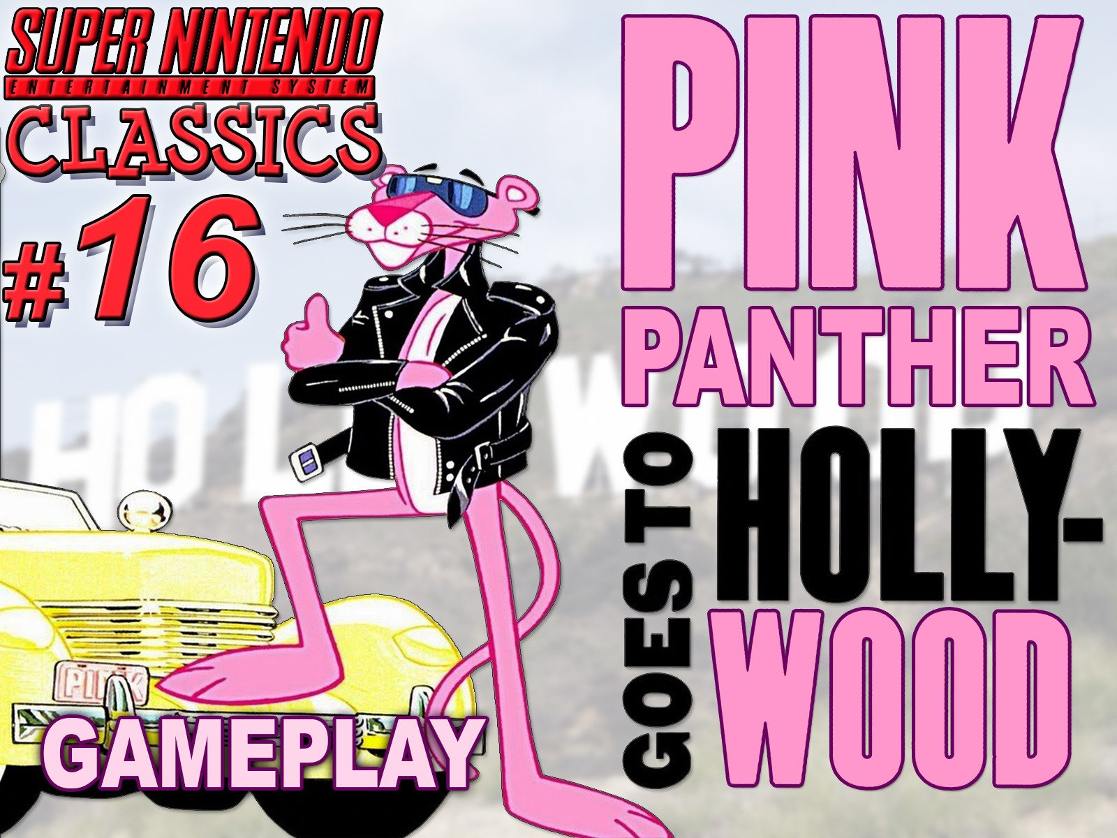 Clip: Pink Panther goes to Hollywood Gameplay (SNES Classics 16) - Season 1