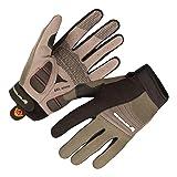 Endura Full Monty Full Finger Glove Olive/Black, Small (Color: Olive, Tamaño: Small)