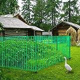 V Protek Safety Fence For Flower Plants Support,Snow Fencing,Deer Netting,39
