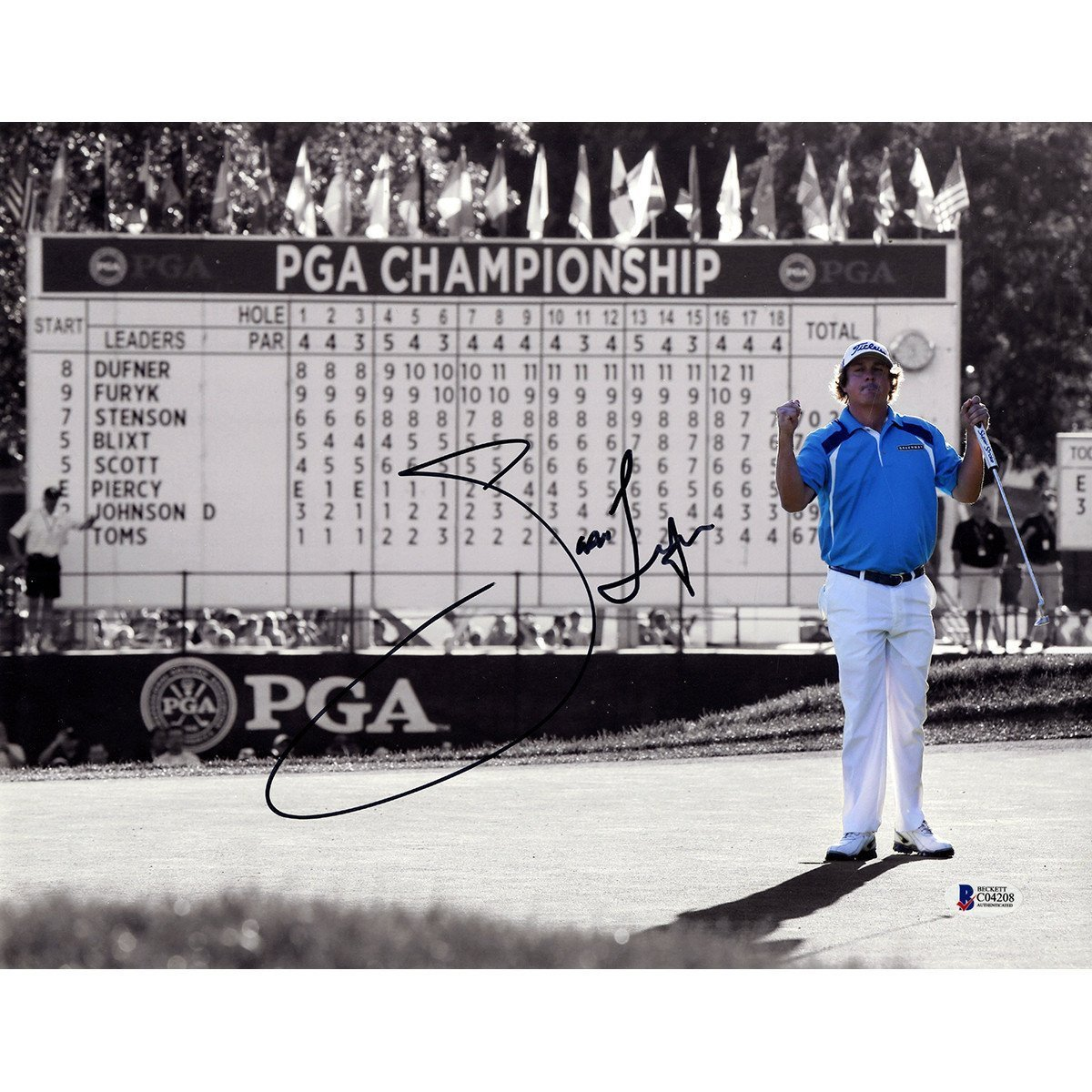 PGA Leaderboard